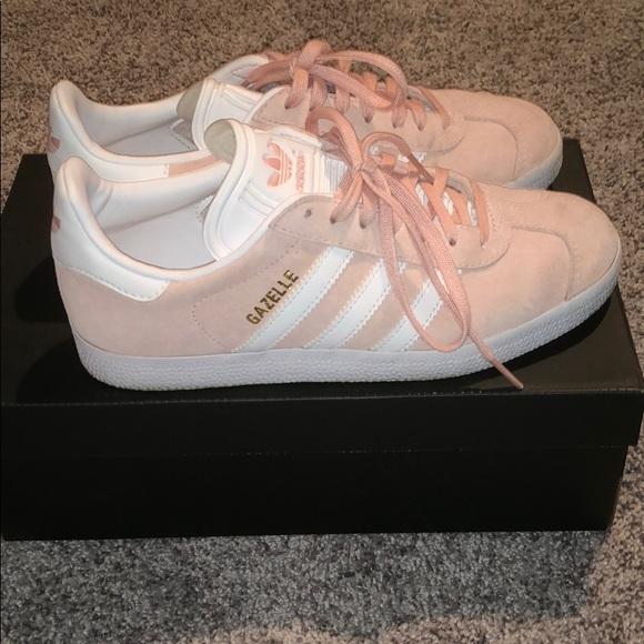 Adidas Originals Gazelle pinkwhite size 7 womens